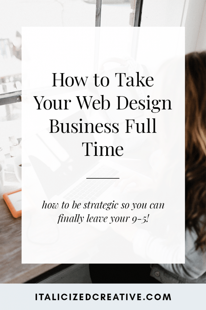 How to Make 2019 the Year You Take Your Design Business Full Time